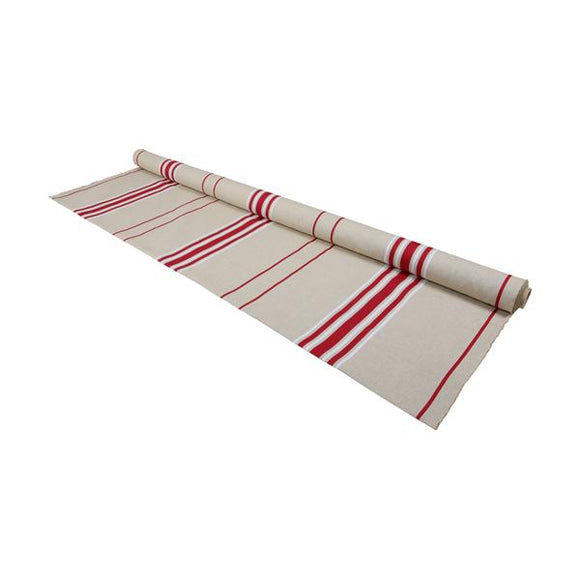 fabric by the meter woven in france with stripes designed by artiga-Corda M. Bordeaux