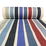 Strong 100% cotton woven canvas designed by Artiga, great for deckchairs, stools, director chairs-Garlin Marine