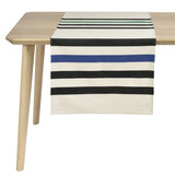 coated table runner, woven in France, sewn in canada, designed by Artiga-Lacquy ( Organic Cotton)