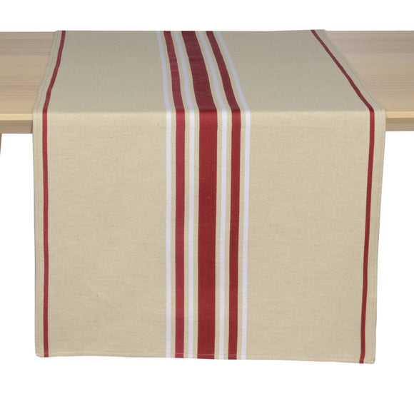 table runner made in France designed by Artiga-Corda M. Bordeaux