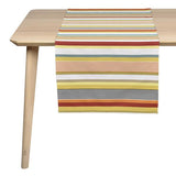 coated table runner, woven in France, sewn in canada, designed by Artiga-Garazi (Organic Cotton)