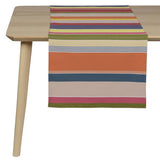 coated table runner, woven in France, sewn in canada, designed by Artiga-Rion