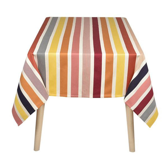 table cloth woven in france fabric designed by Artiga-for 4 people