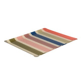 Large tray with Artiga fabric inside, in a mold of acrylic-Garlin Corail