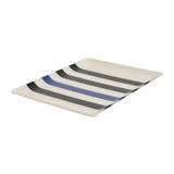 Large tray with Artiga fabric inside, in a mold of acrylic-Lacquy ( Organic Cotton)