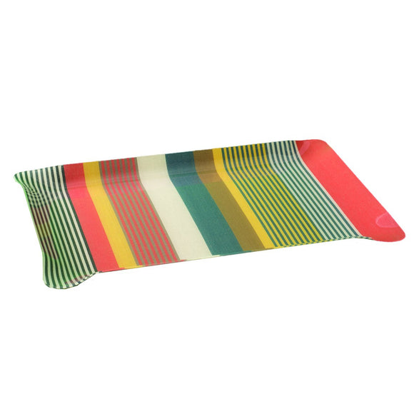 Medium tray with Artiga fabric inside, in a mold of acrylic-Puyoo