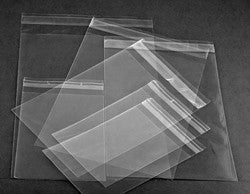 Peal and Seal Polypropylene Bags