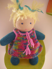 Waldorf inspired dolls for toddlers
