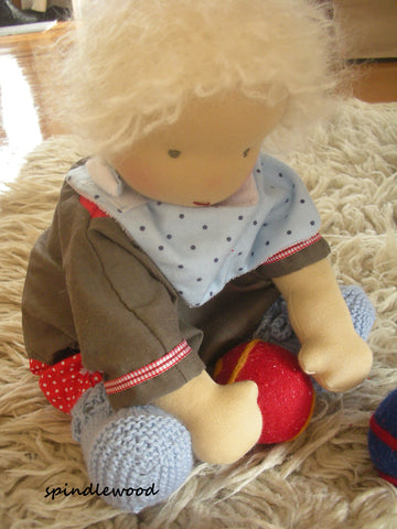 "Waldorf inspired doll  ""Bilbo"""
