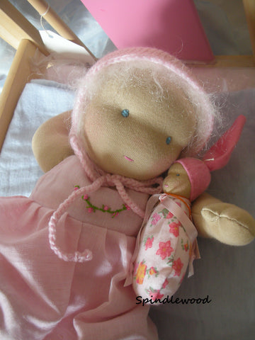 Waldorf inspired baby doll... ""