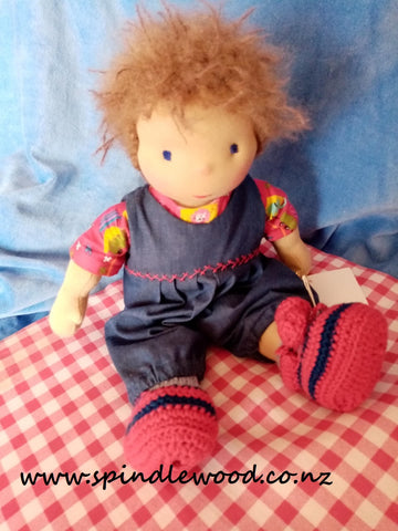 "Steiner/Waldorf inspired doll"" Joris"""