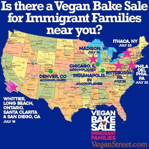 vegan bake sale vegan street