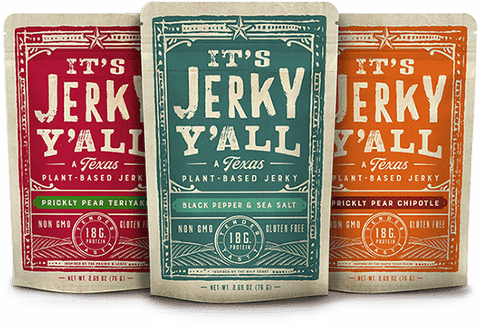 It's Jerky Y'all - Vegan Jerky