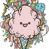 Get Fluffed Up Fairy Floss - All Natural Cotton Candy