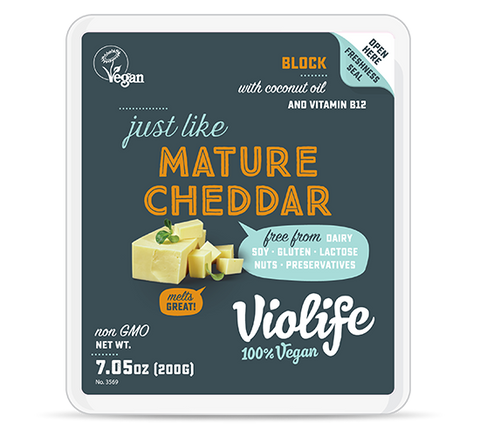 Violife Just Like Mature Cheddar Block