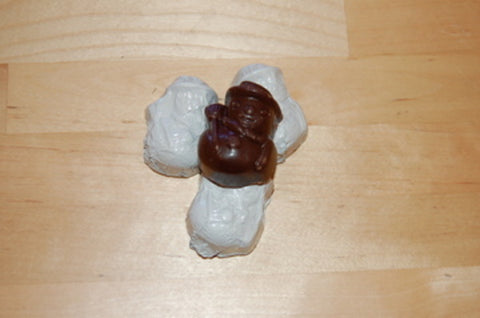 Organic Dark Chocolate Winter Wonderfuls - Sold Individually