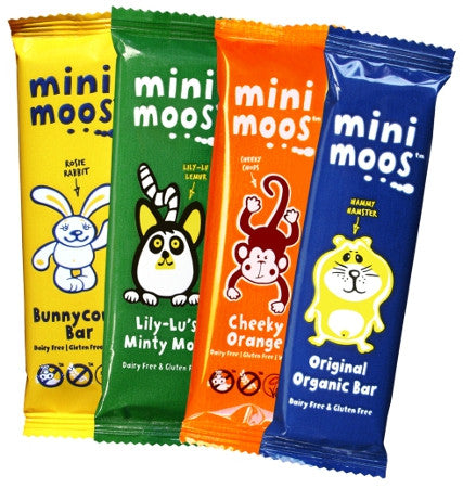 Moo Free Mini Moos Chocolate Bars