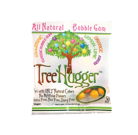 Tree Hugger All Natural Bubble Gum - 2oz. Bag