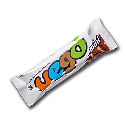 VEGO mini - Whole Hazelnut Chocolate Bar (IMPORTED)