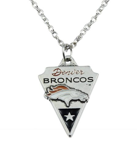 Denver Broncos Necklace