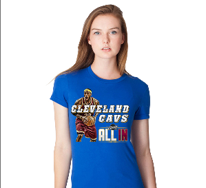 Cleveland Cavs All In T Shirt