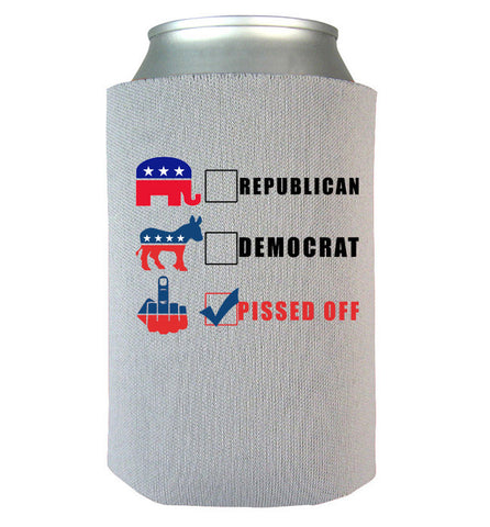 Pissed Off Can Koozie