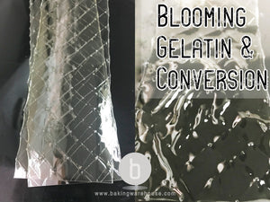 Blooming Gelatin | Convert bloom strength | Gelatin grade