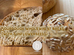Sourdough Wholewheat Bread with sunflower seed