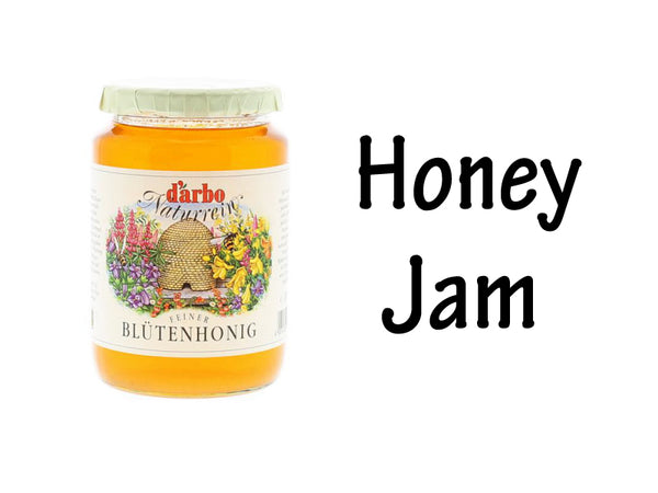 Honey, Fruit Jam
