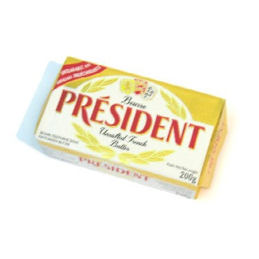 President unsalted french butter