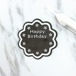Happy Birthday Chocolate Tag