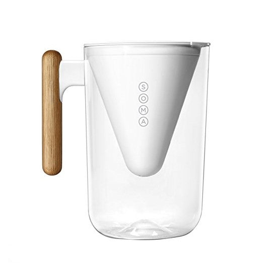 Water Filter Sustainable Pitcher with Wooden handle