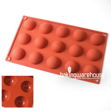 40x20mm half dome silicon mold