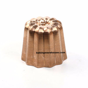 Cannels copper mould, canele mold