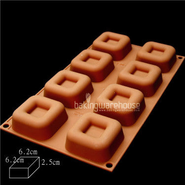 Silicon Square Savarin mold- large