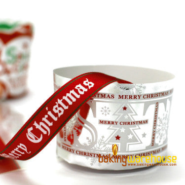X'mas muffin cup-silver