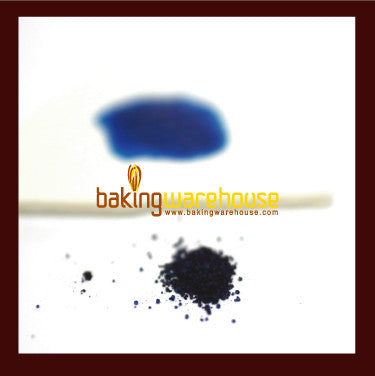 Blue edible color powder -water base