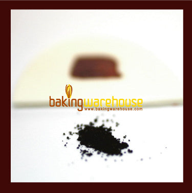 Brown edible color powder -water base