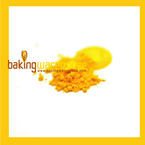 Yellow Edible color powder -oil base