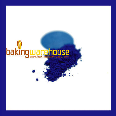 Blue Edible color powder -oil base