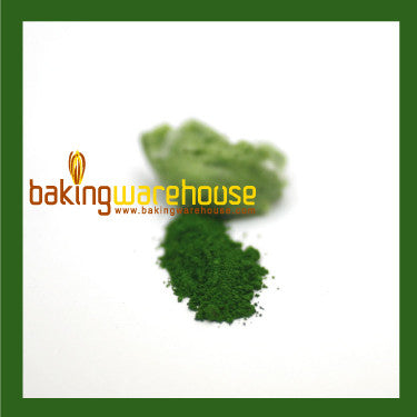 Green Edible color powder -oil base