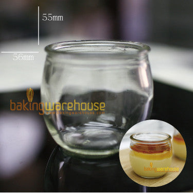 Glass dessert cup 100ml