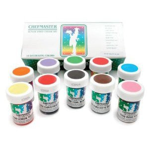 Chef master-color gel paste senior color kit