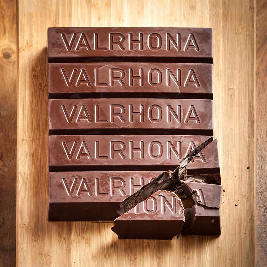 70% Valrhona block chocolate