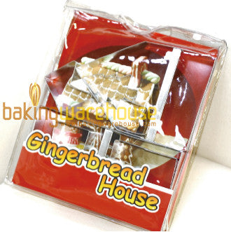 Ginger bread  house cookie cutter set