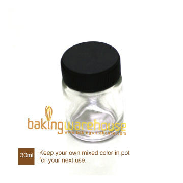 Glass pot 30ml