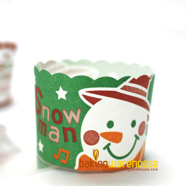 X'mas muffin cup-Green