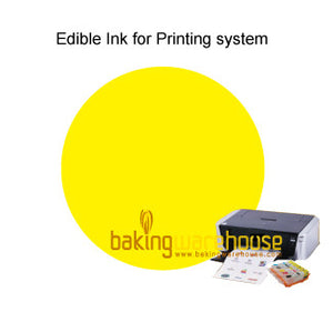 Edible ink yellow