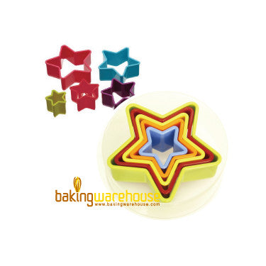 Plastic cookie cutter - star