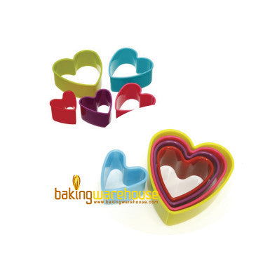 Plastic cookie cutter - heart